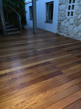 Terrassenbelag, Garapa (Beinbauer Holz)