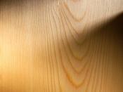 Massivholzboden, Lärche, geschliffen (Weiss)
