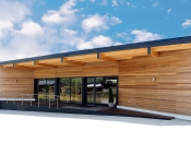 Holzfassade, Red-Cedar (Beinbauer Holz)