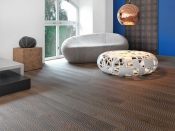 Parkettboden, Buche Vulcano Fresco Duna, gefräst weiß, geölt-Beinbauer-Holzhandel (Mafi)