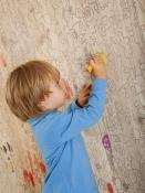 Parkettboden, Carving Kids II gebürstet, gelaugt, weiß geölt (Mafi)