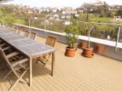Terrassenbelag, Lärche, genutet (Gunreben)