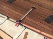 Terrassenbelag, Cumaro mit unsichtbarer Befestigung (Beinbauer Holz)
