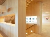 Wand- und Deckenverkleidung aus Holz, heimische Weißtanne (Häusermann)