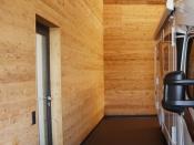 Wandverkleidung aus Holz (Häusermann)