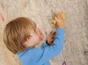 Wandverkleidung aus Holz, Carving-Kids-II, gebürstet-gelaugt-weiss-geölt (Mafi)