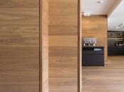 Wandverkleidung aus Holz, Eiche-Lapis (Admonter)
