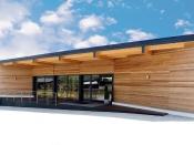 Außenfassade, Red-Cedar